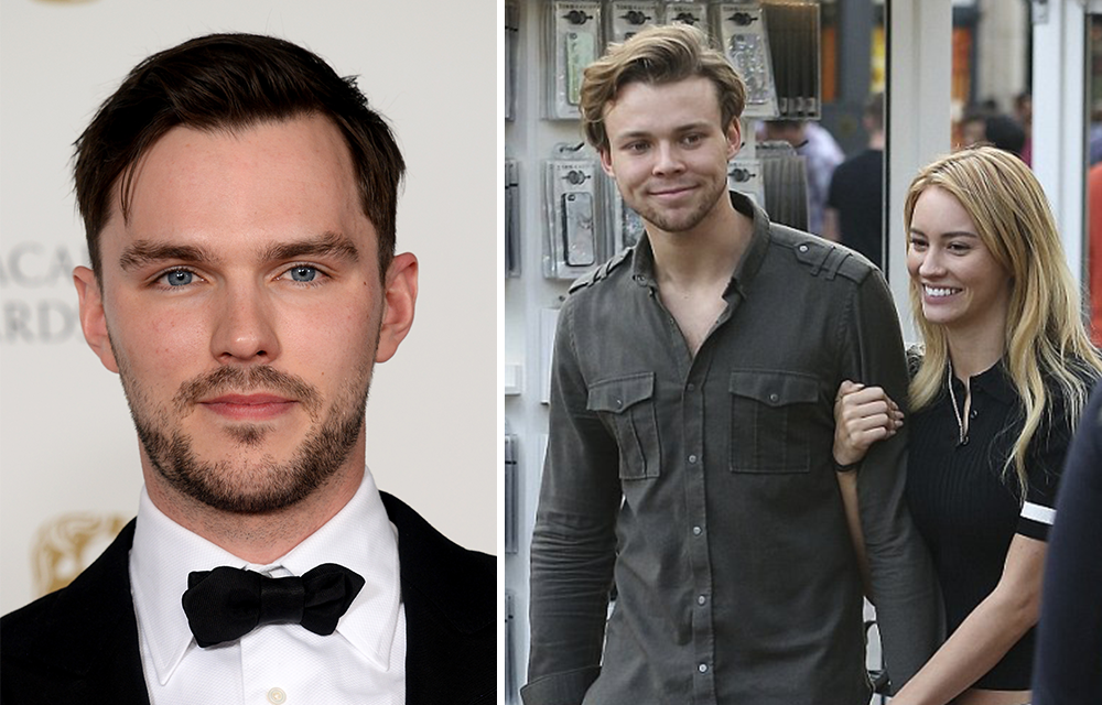 Nicholas Hoult having ...