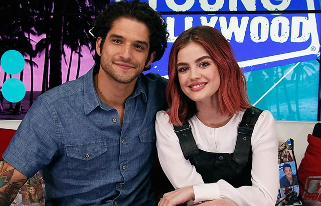 926bdab9e8417 Tyler Posey reveals the most awkward thing that happened in his Lucy Hale  sex scene