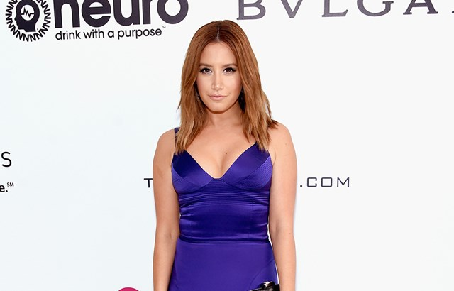 Ashley Tisdale Hits Back People Saying She Looked 'Pregnant' At Elton John's Oscars Party