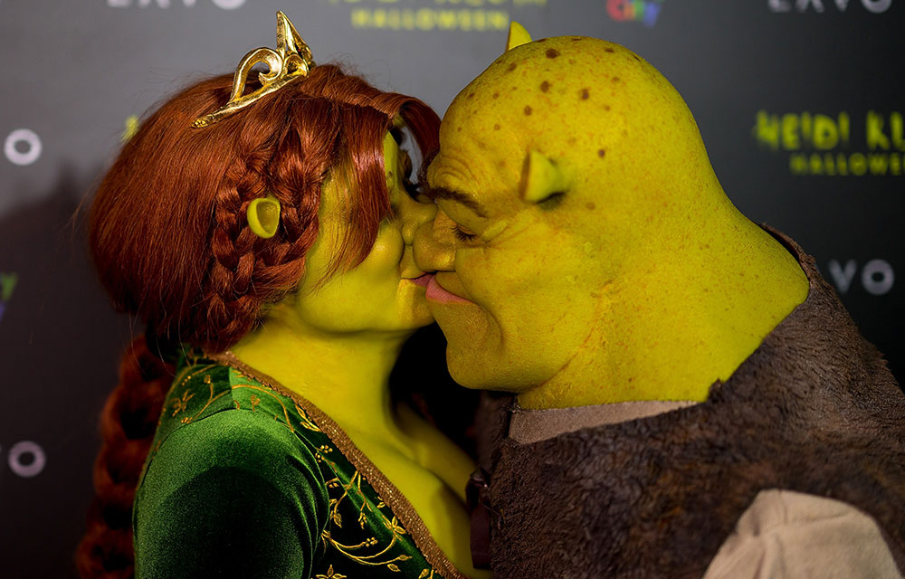 costume Halloween Heidi Girlfriend Klum Shrek | Fiona and