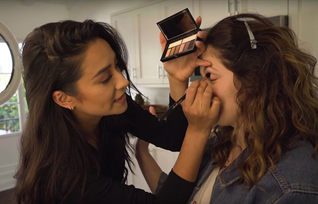 'Pretty Little Liars' Star Shay Mitchell Is Actually A Really Talented Makeup Artist