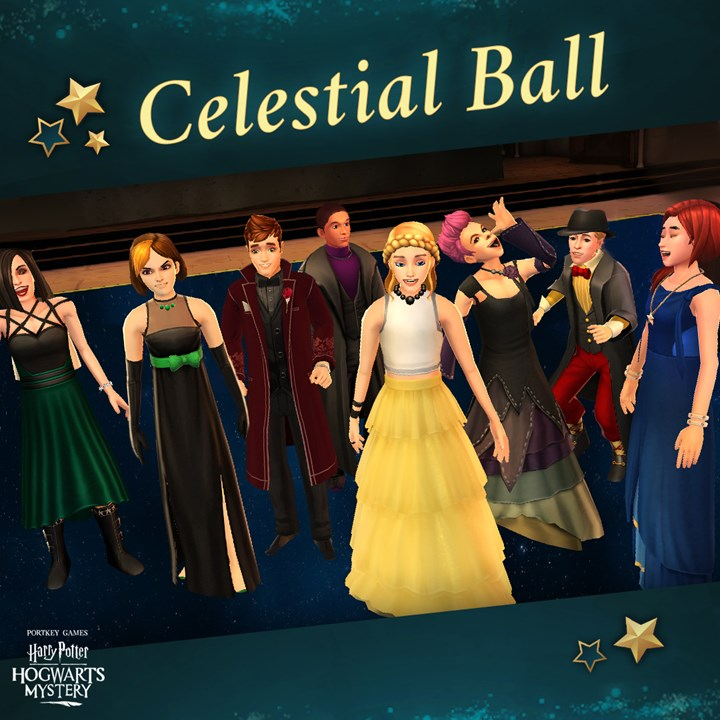 Harry Potter Hogwarts Mystery Celestial Ball Update Girlfriend