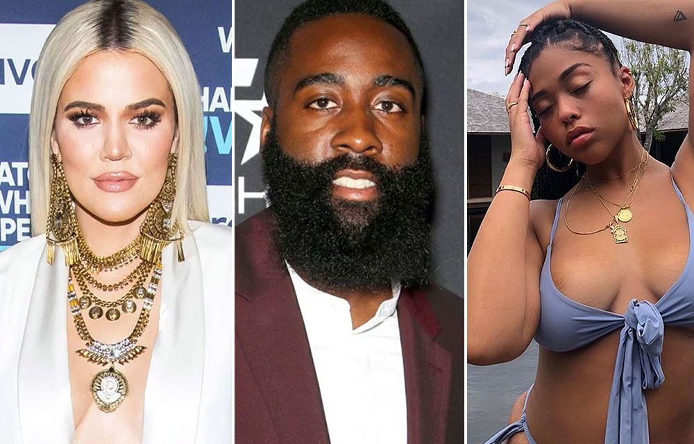dadfd3311dd0 Jordyn Woods hooked up with Khloe s ex James Harden