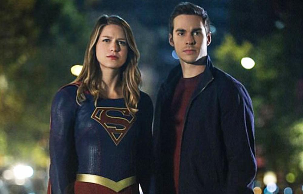 'Supergirl' Stars Melissa Benoist & Chris Wood FINALLY