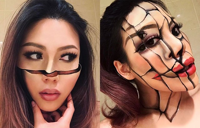 This Makeup Artists' Looks Are Seriously Creeping People Out