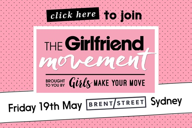 Be part of The Girlfriend Movement
