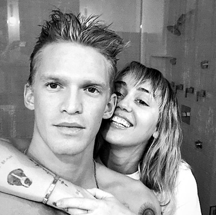 Cody Simpson implies he's been hooking up with Miley Cyrus for AGES