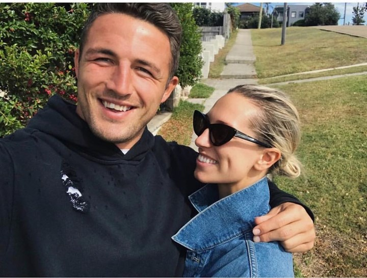 Sam Burgess issued with a temporary AVO after fight with Phoebe's father