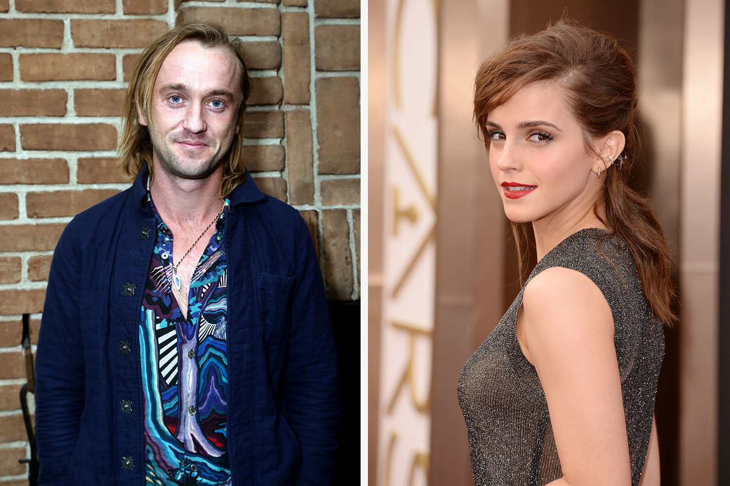 Tom Felton Just Hinted He S Dating Emma Watson On Instagram Girlfriend