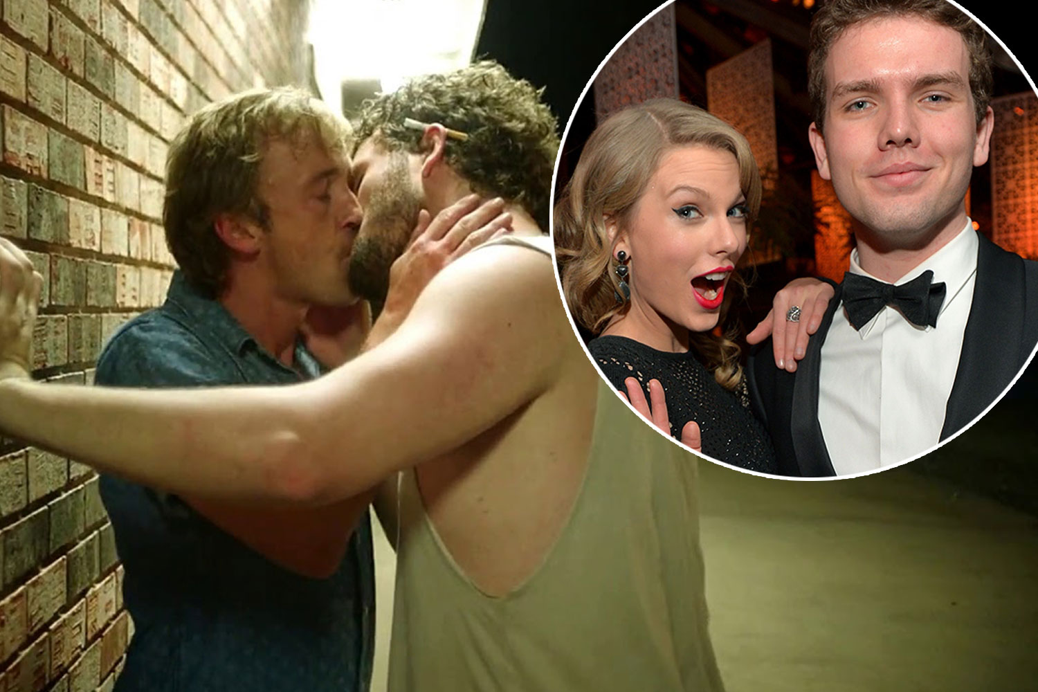 Tom Felton Makes Out With Taylor Swift S Brother Austin Swift Girlfriend