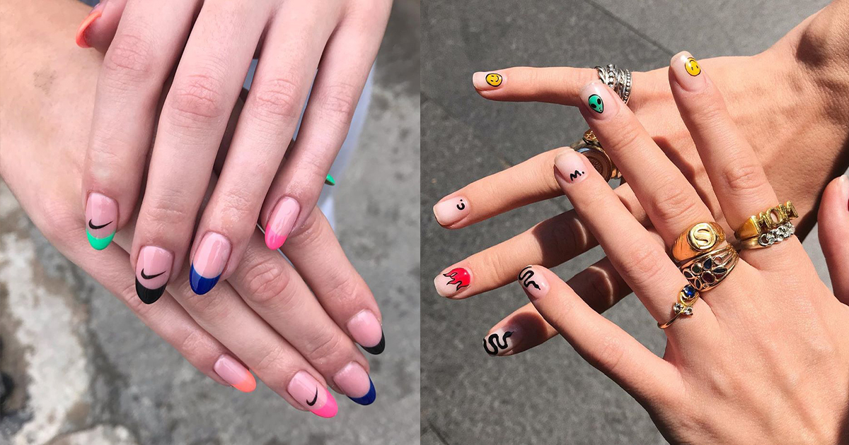 The 10 nail art trends you're going to see everywhere in 2020