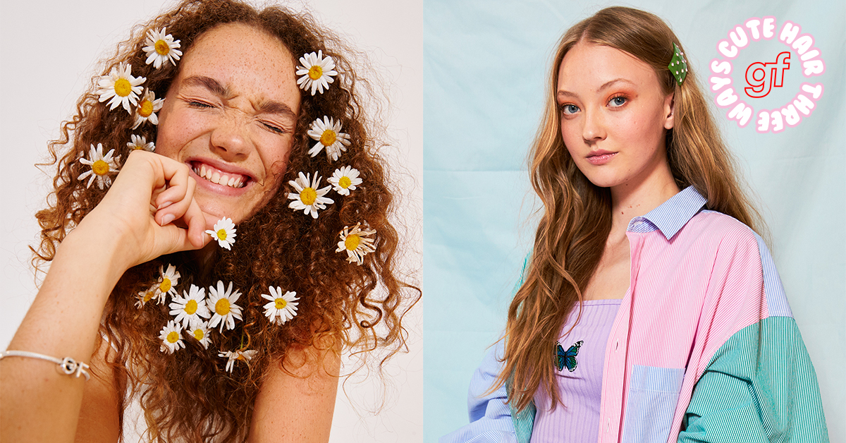 Get The Look: Three Easy And Cute Hairstyles From The Girlfriend Relaunch Shoot