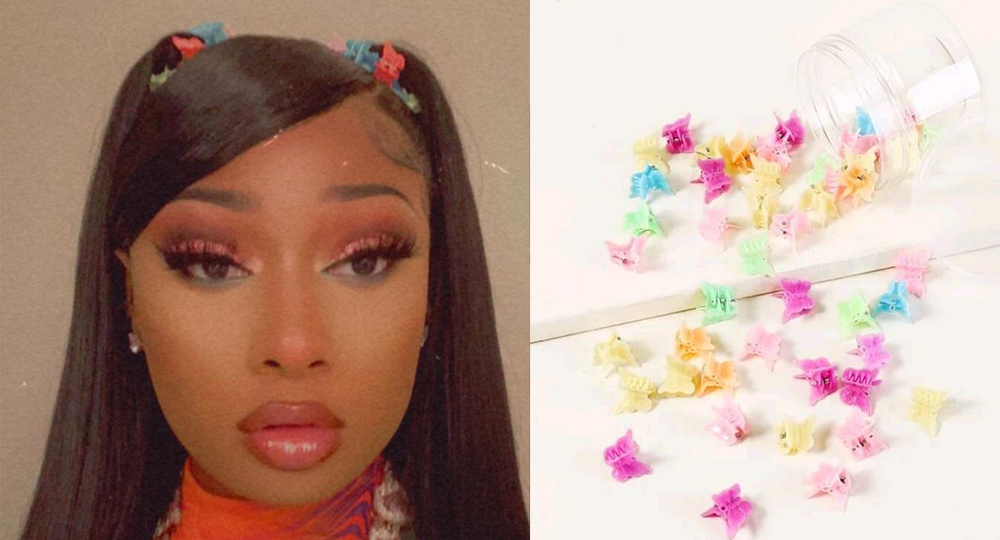 Hello, it's the 90s calling, Butterfly clips are back!