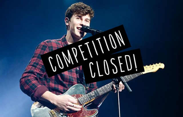 Winners of the Shawn Mendes competition