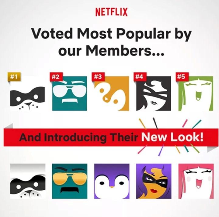 Netflix introduces personalised avatars   Girlfriend