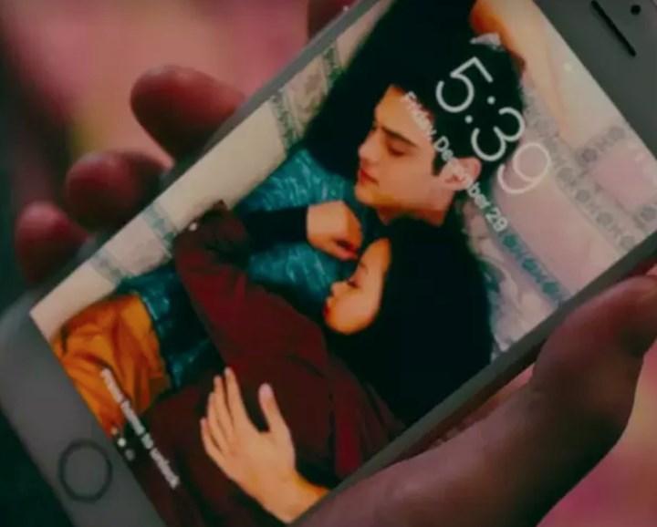 The truth behind this cuddling photo of Lana Condor and Noah