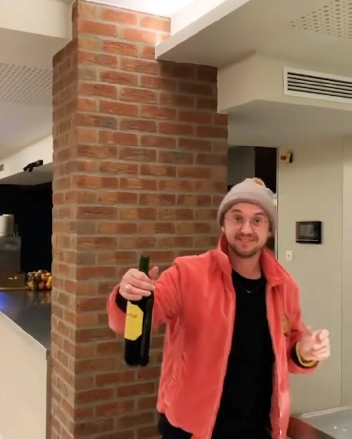 Tom Felton Got In Trouble By His Hotel Girlfriend